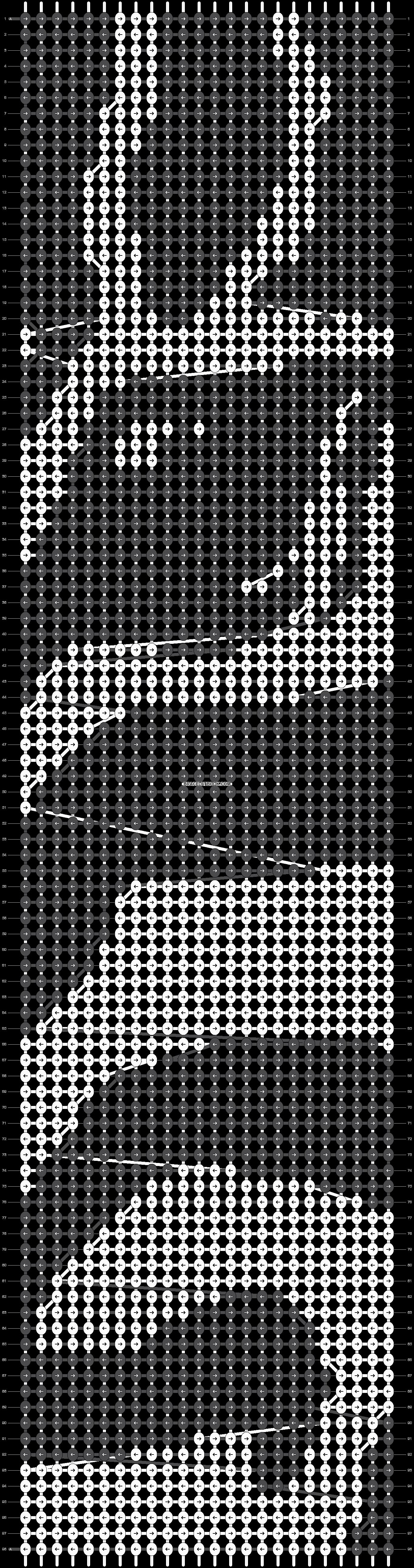 Alpha pattern #20747 pattern