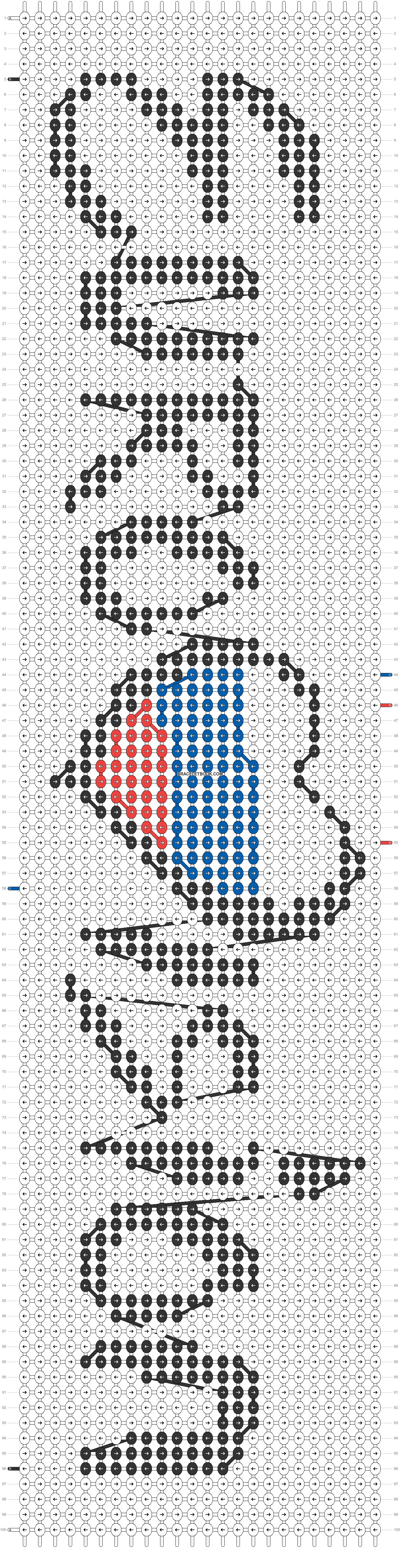 Alpha pattern #20751 pattern