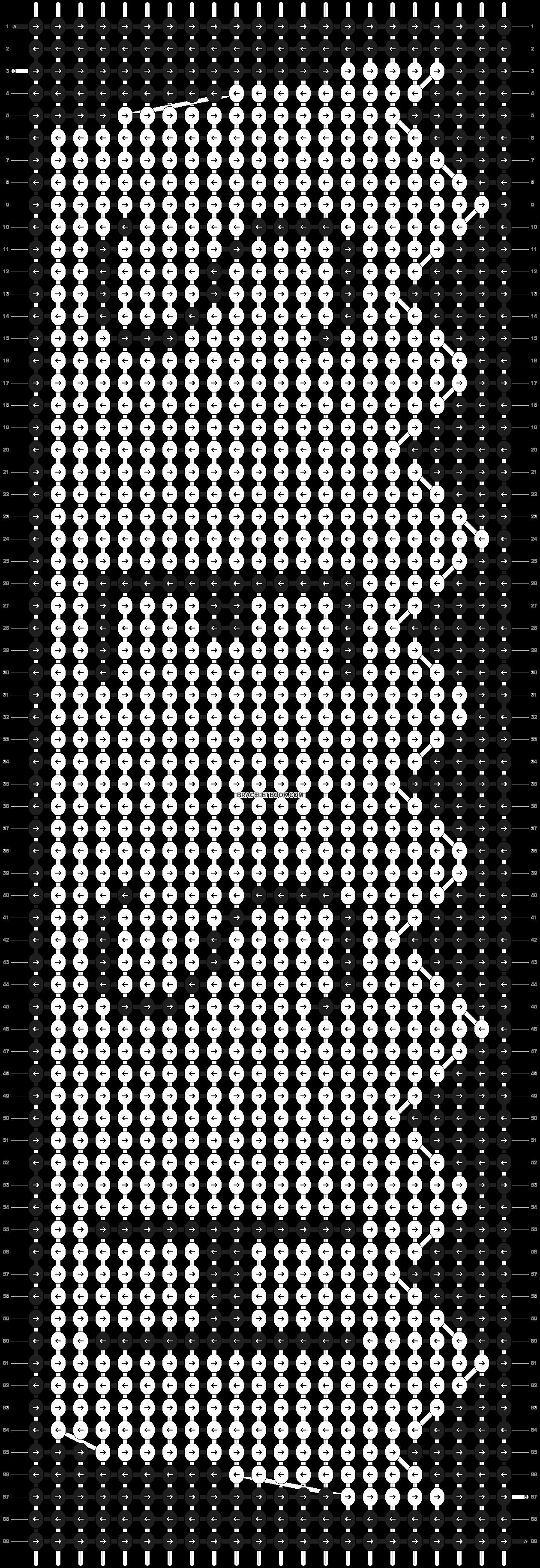 Alpha pattern #20755 pattern