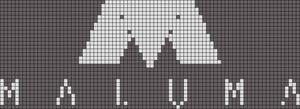 Alpha Friendship Bracelet Pattern #20756