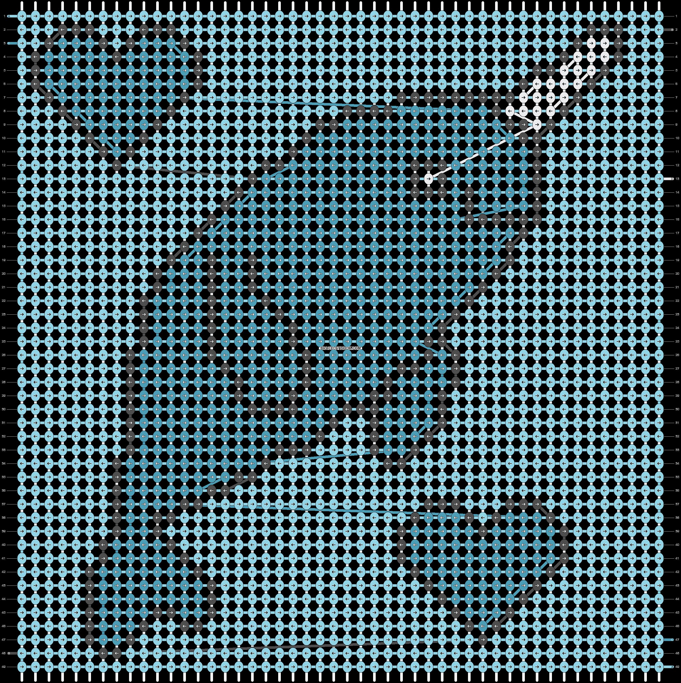 Alpha pattern #20757 pattern