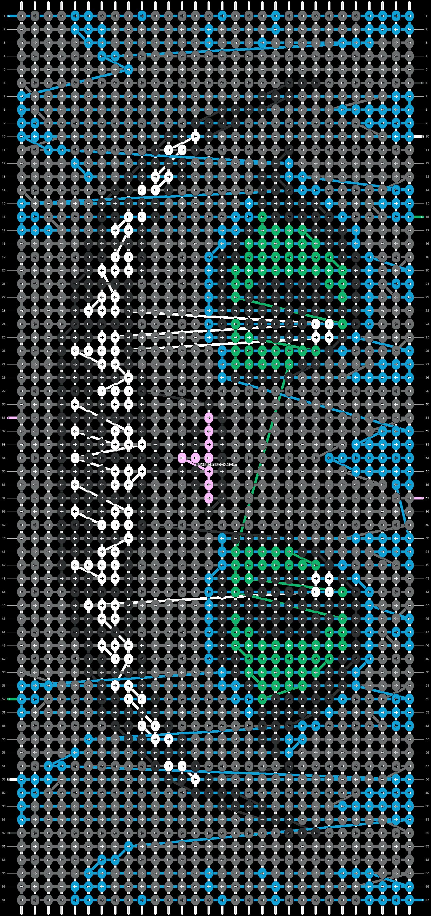 Alpha pattern #20766 pattern