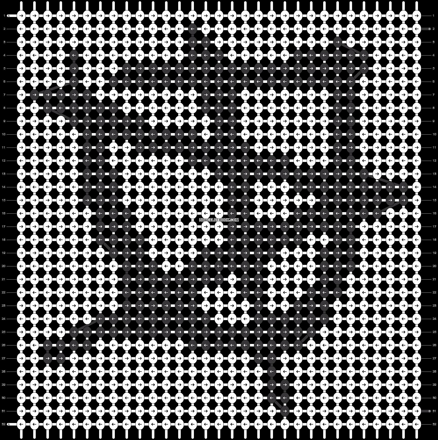 Alpha pattern #20771 pattern