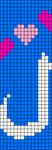 Alpha pattern #20772