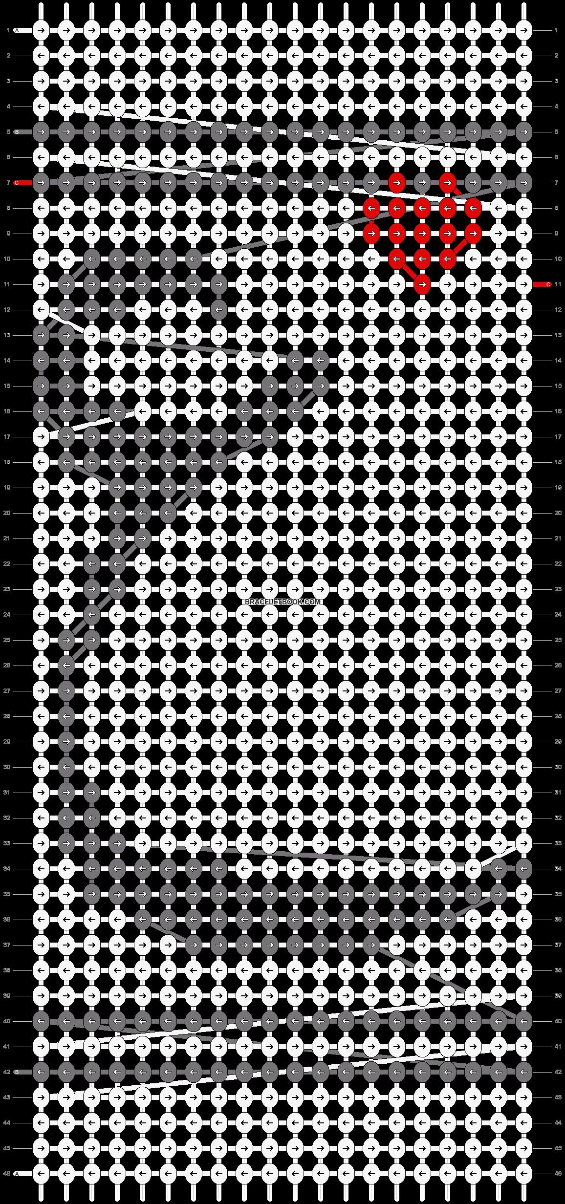 Alpha pattern #20773 pattern