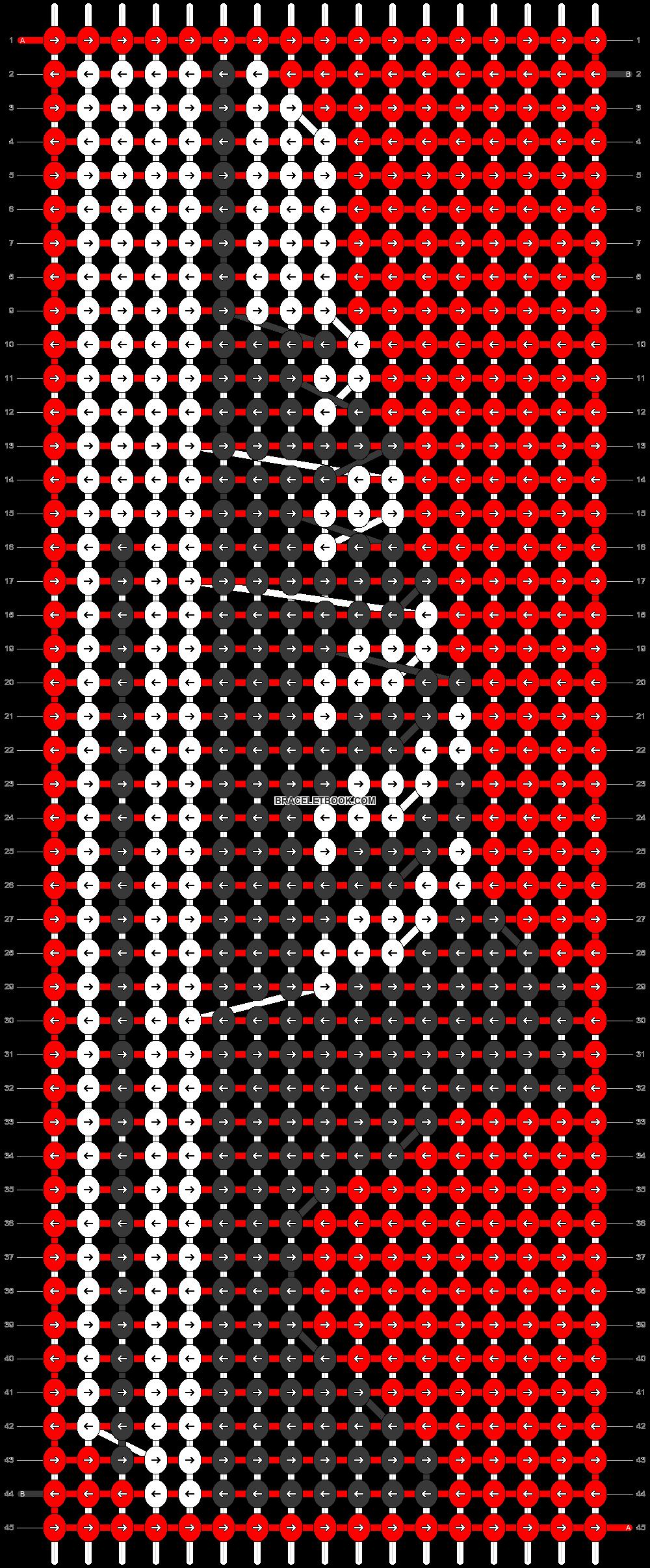 Alpha pattern #20776 pattern