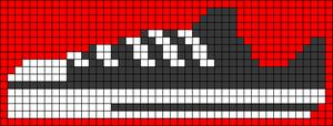 Alpha Friendship Bracelet Pattern #20776