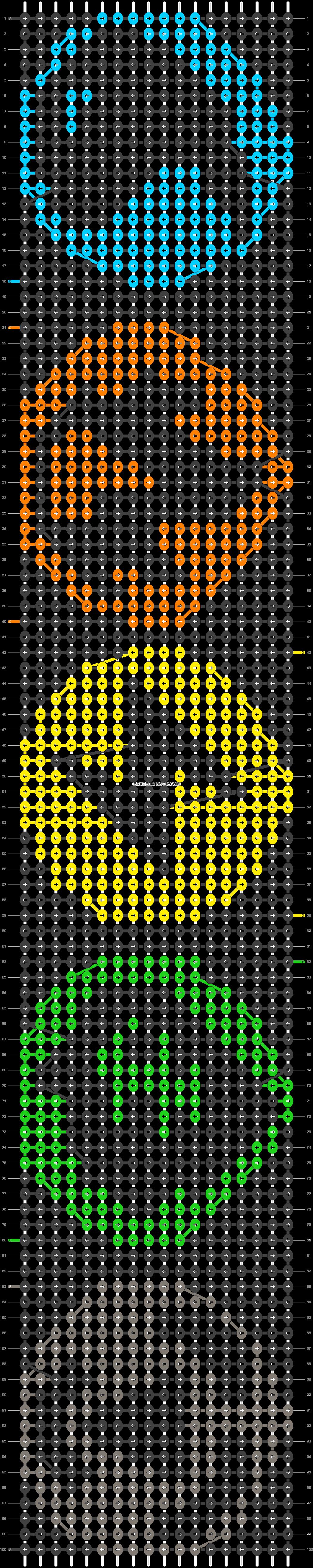 Alpha pattern #20785 pattern