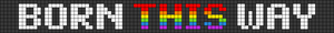 Alpha Friendship Bracelet Pattern #20791