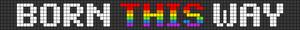 Alpha pattern #20791