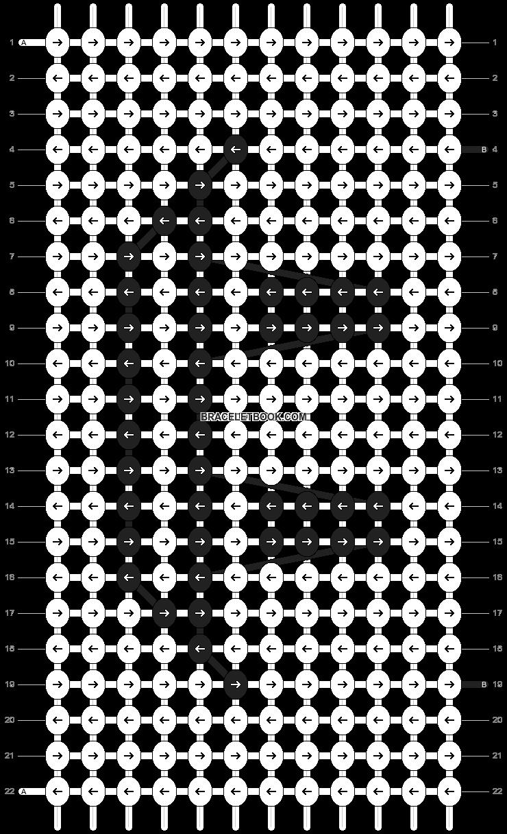 Alpha pattern #20793 pattern