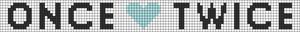 Alpha Friendship Bracelet Pattern #20798