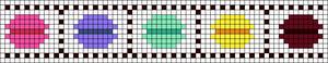 Alpha pattern #20802