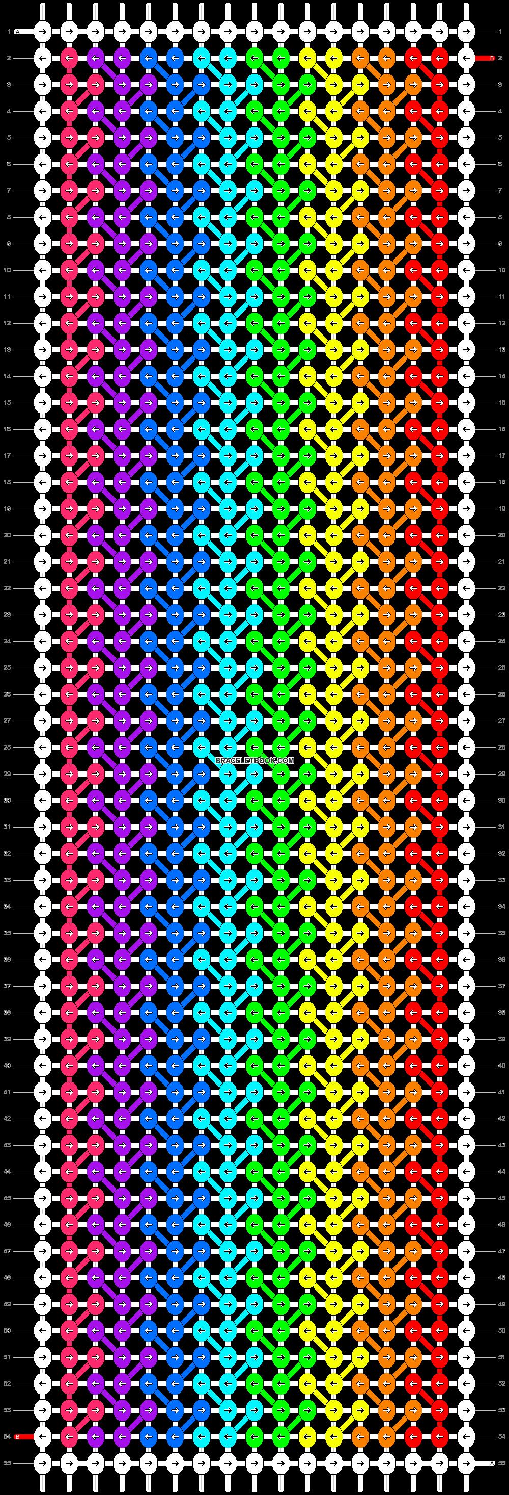Alpha pattern #20803 pattern