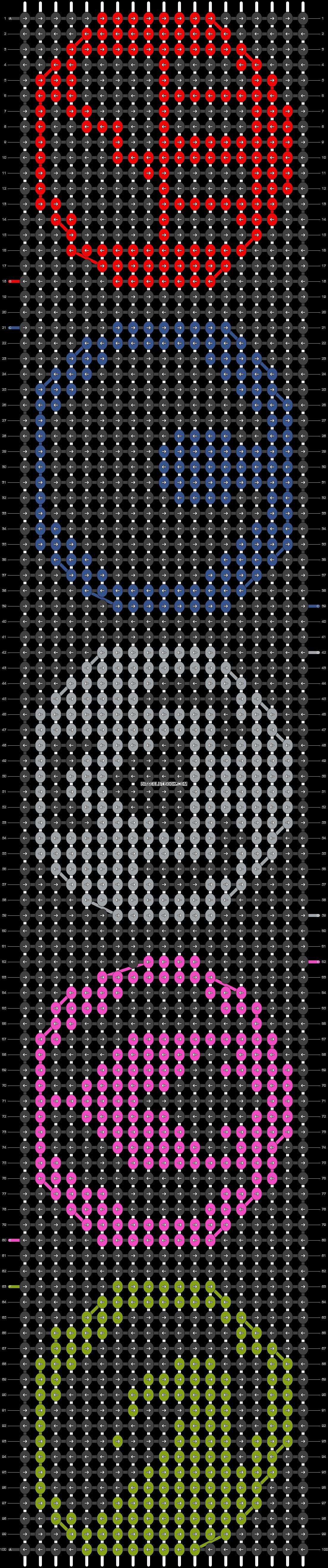 Alpha pattern #20805 pattern