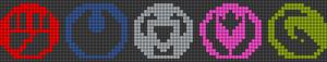 Alpha Friendship Bracelet Pattern #20805