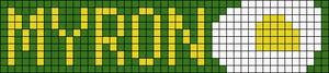 Alpha Friendship Bracelet Pattern #20814
