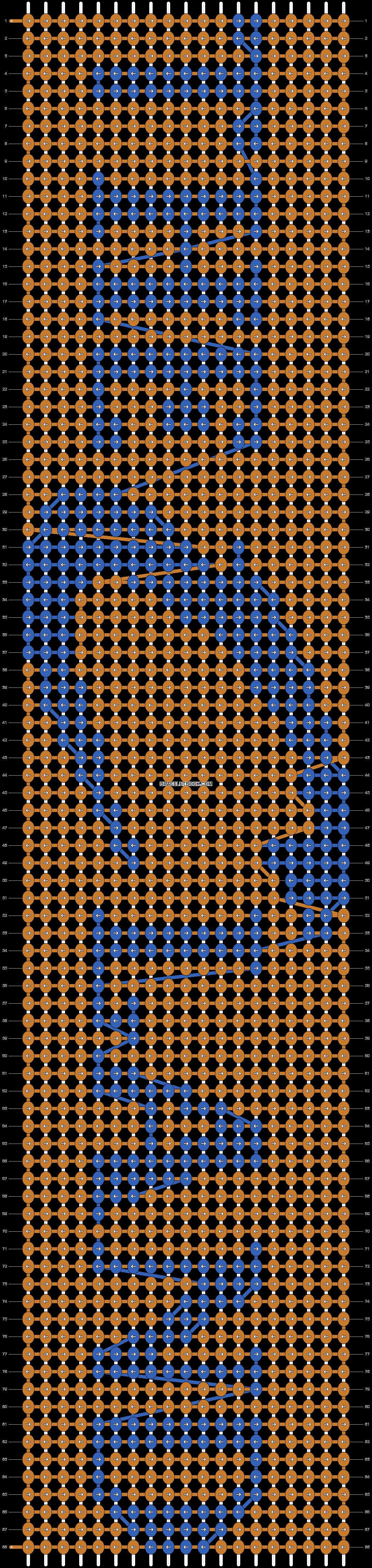 Alpha pattern #20816 pattern