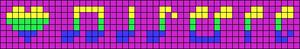Alpha pattern #20818