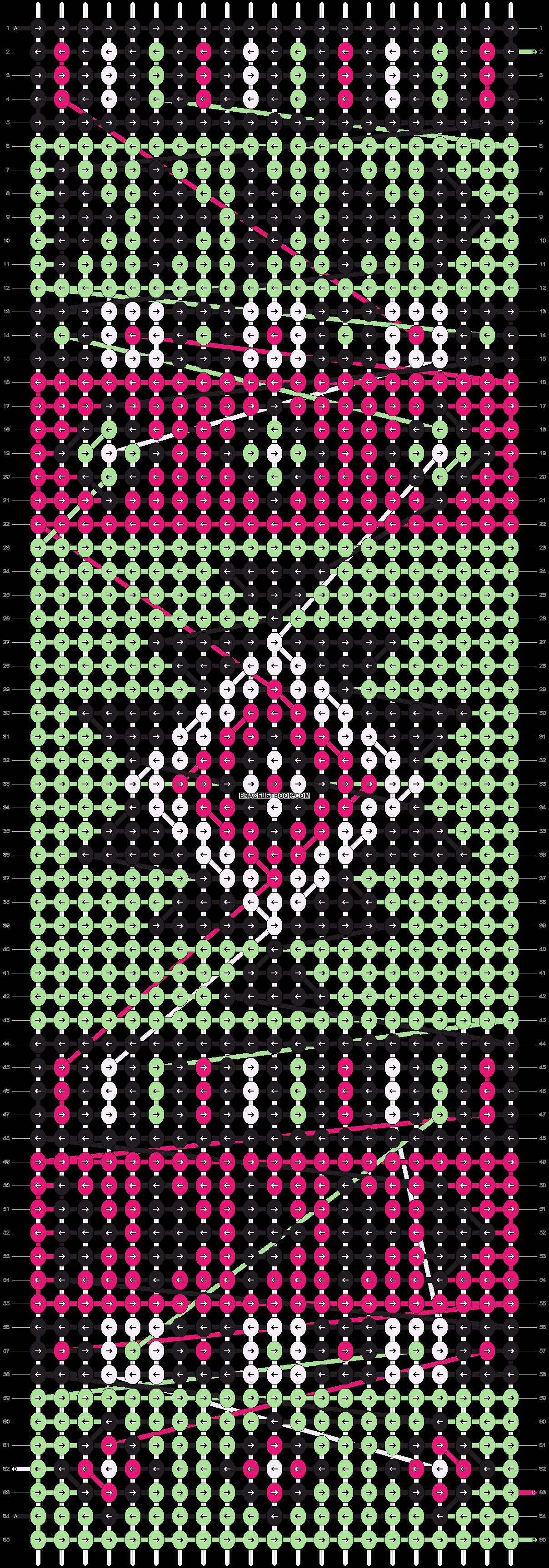 Alpha pattern #20822 pattern