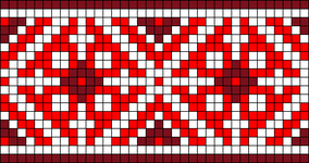 Alpha Friendship Bracelet Pattern #20823