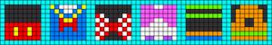 Alpha Friendship Bracelet Pattern #20824