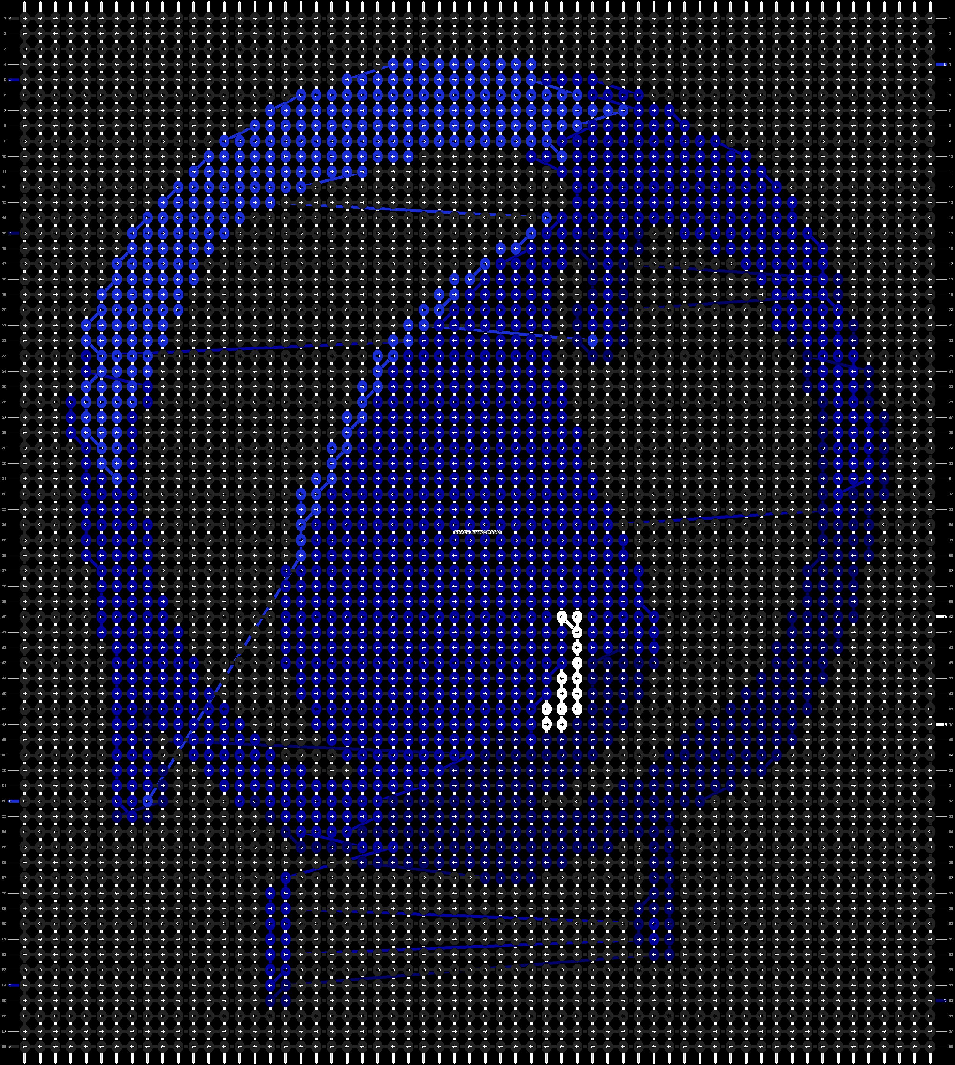 Alpha pattern #20826 pattern