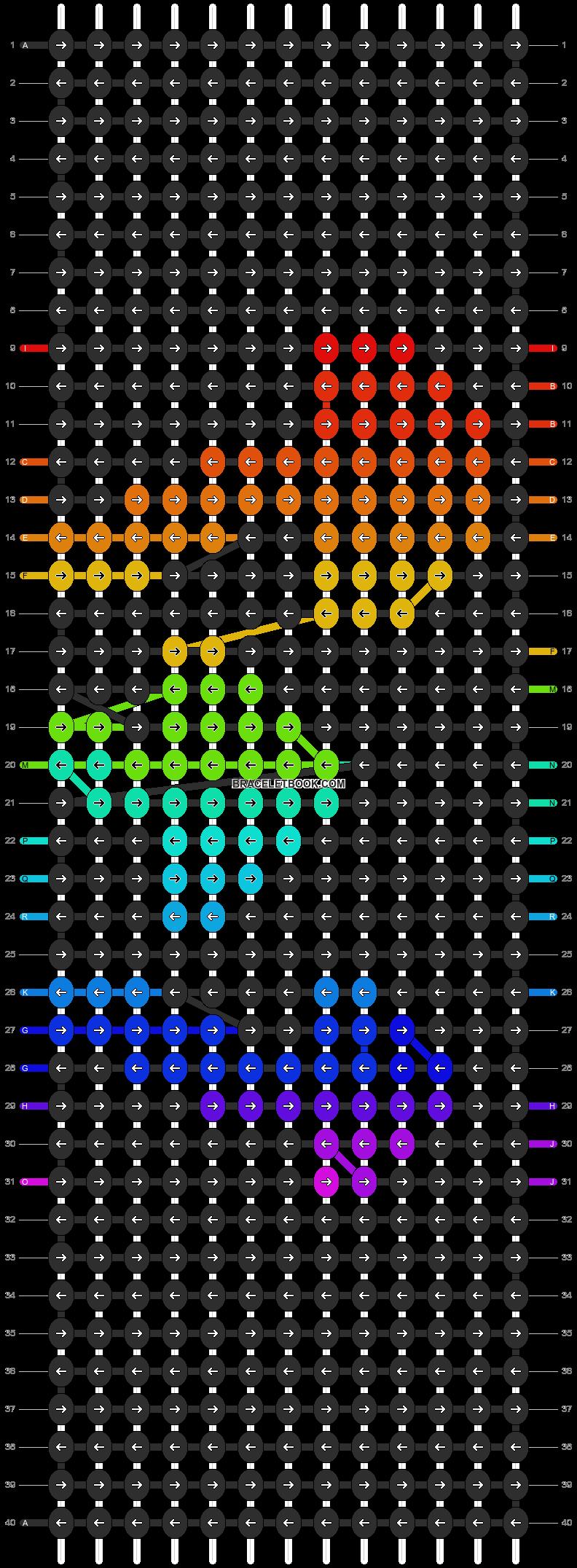 Alpha pattern #20831 pattern