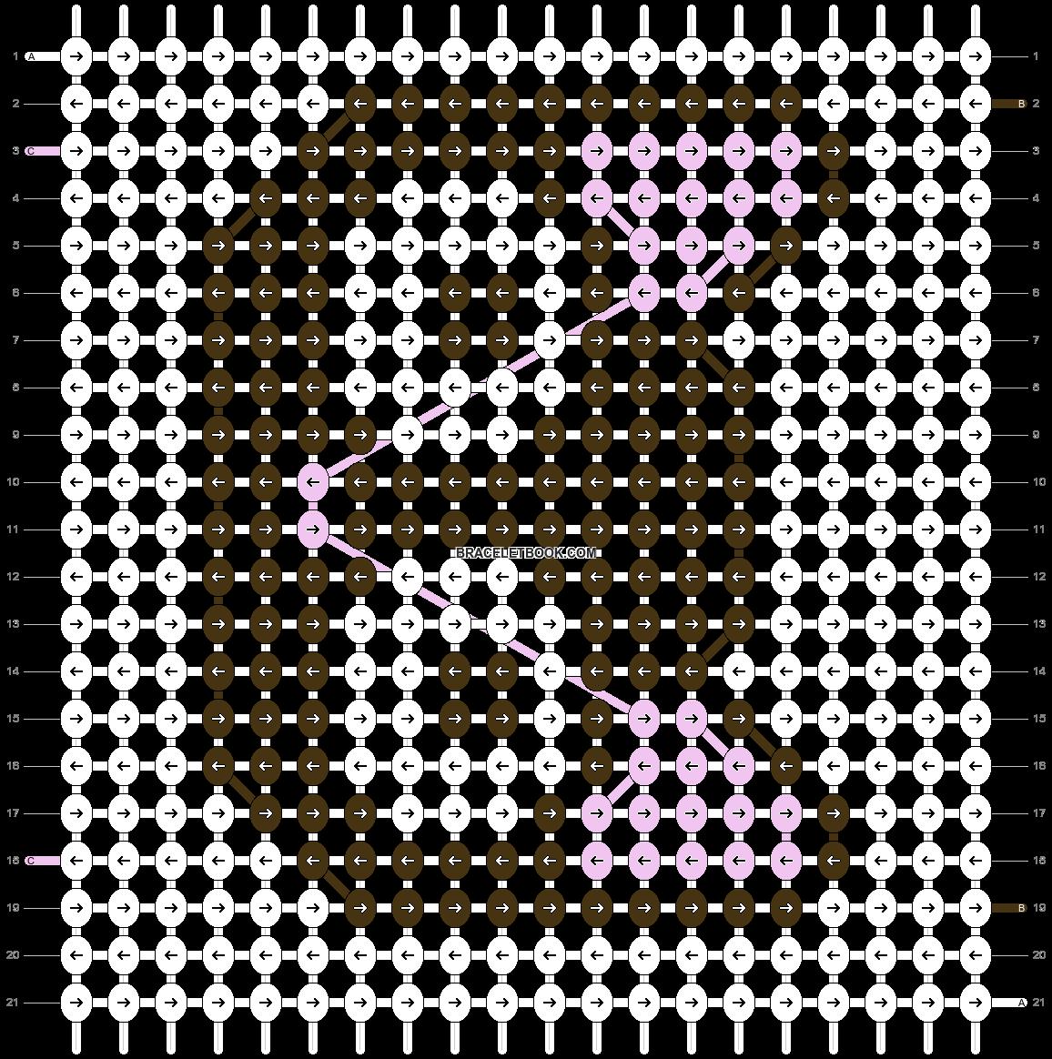 Alpha pattern #20832 pattern