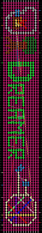 Alpha pattern #20835 pattern