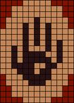 Alpha Friendship Bracelet Pattern #20837