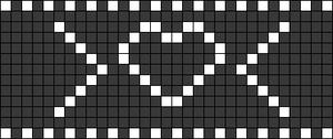 Alpha pattern #20839