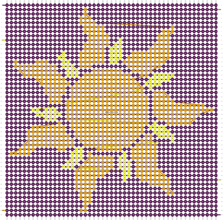 Alpha pattern #20843 pattern