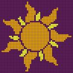 Alpha Friendship Bracelet Pattern #20843