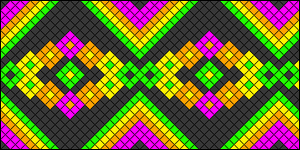 Normal Friendship Bracelet Pattern #20844