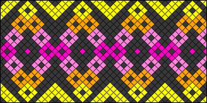 Normal Friendship Bracelet Pattern #20845