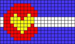 Alpha pattern #20851