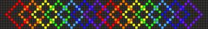 Alpha Friendship Bracelet Pattern #20852