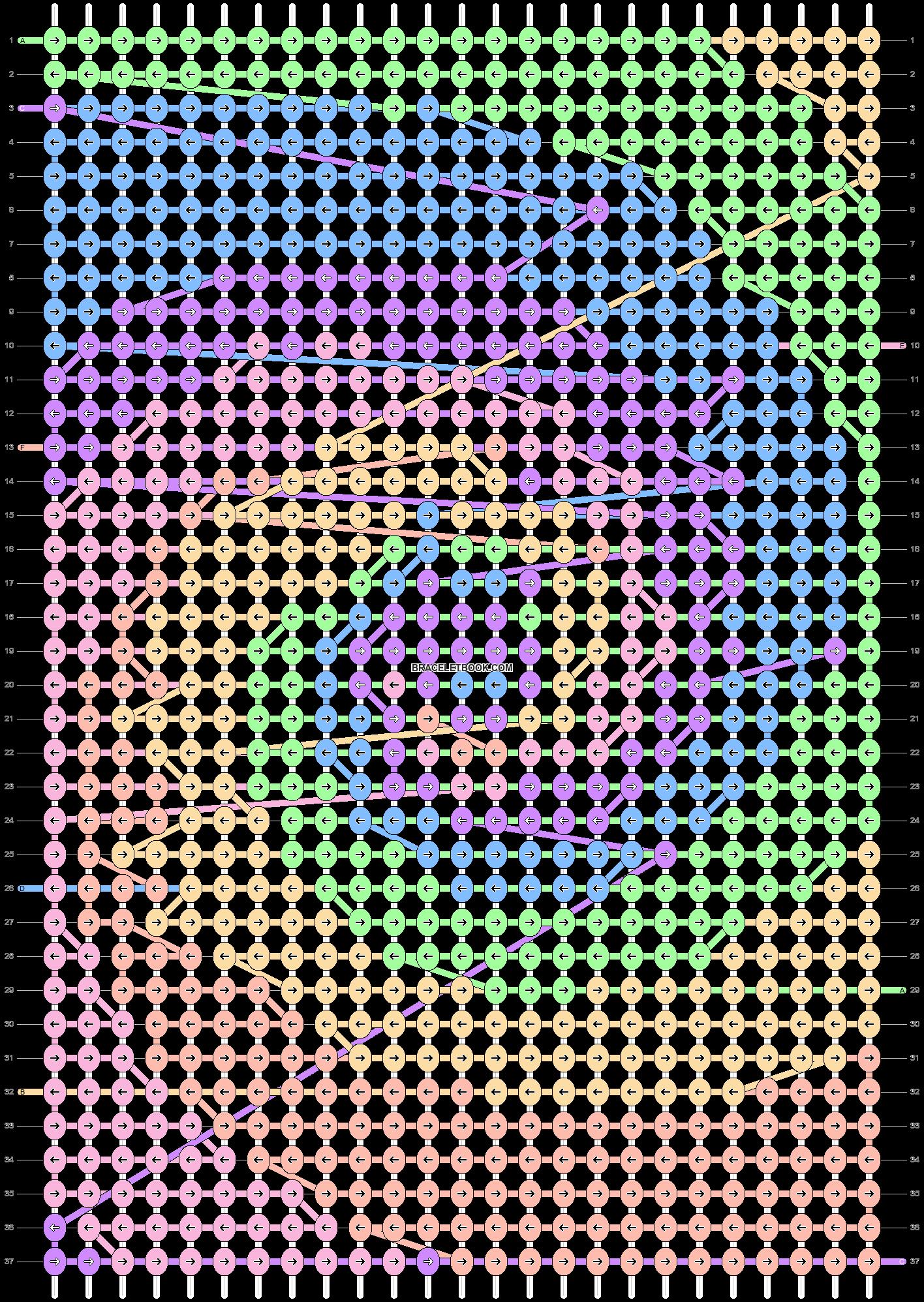 Alpha pattern #20853 pattern