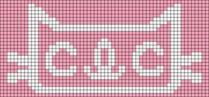 Alpha pattern #20854