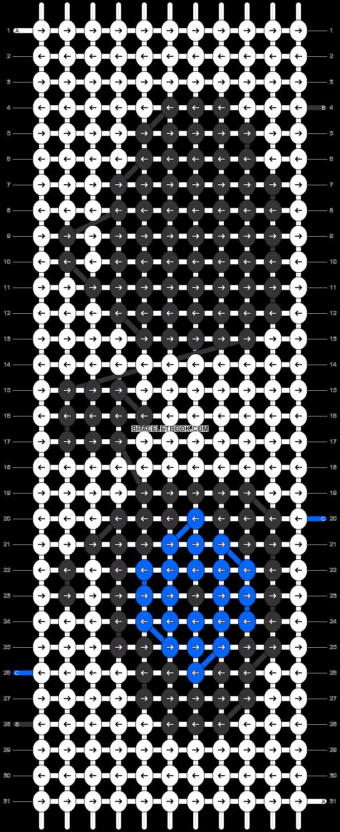 Alpha pattern #20856 pattern