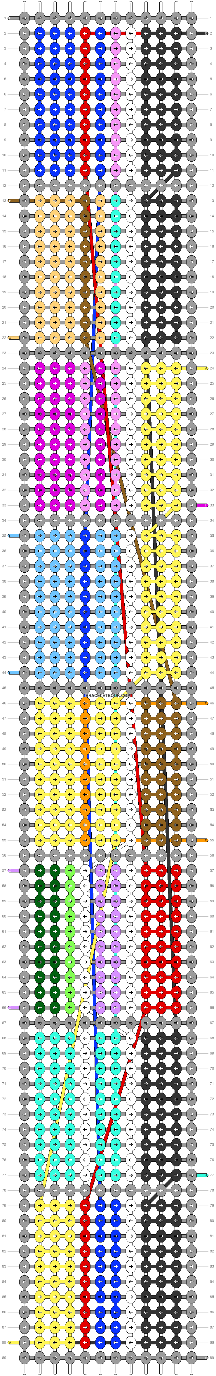 Alpha pattern #20861 pattern