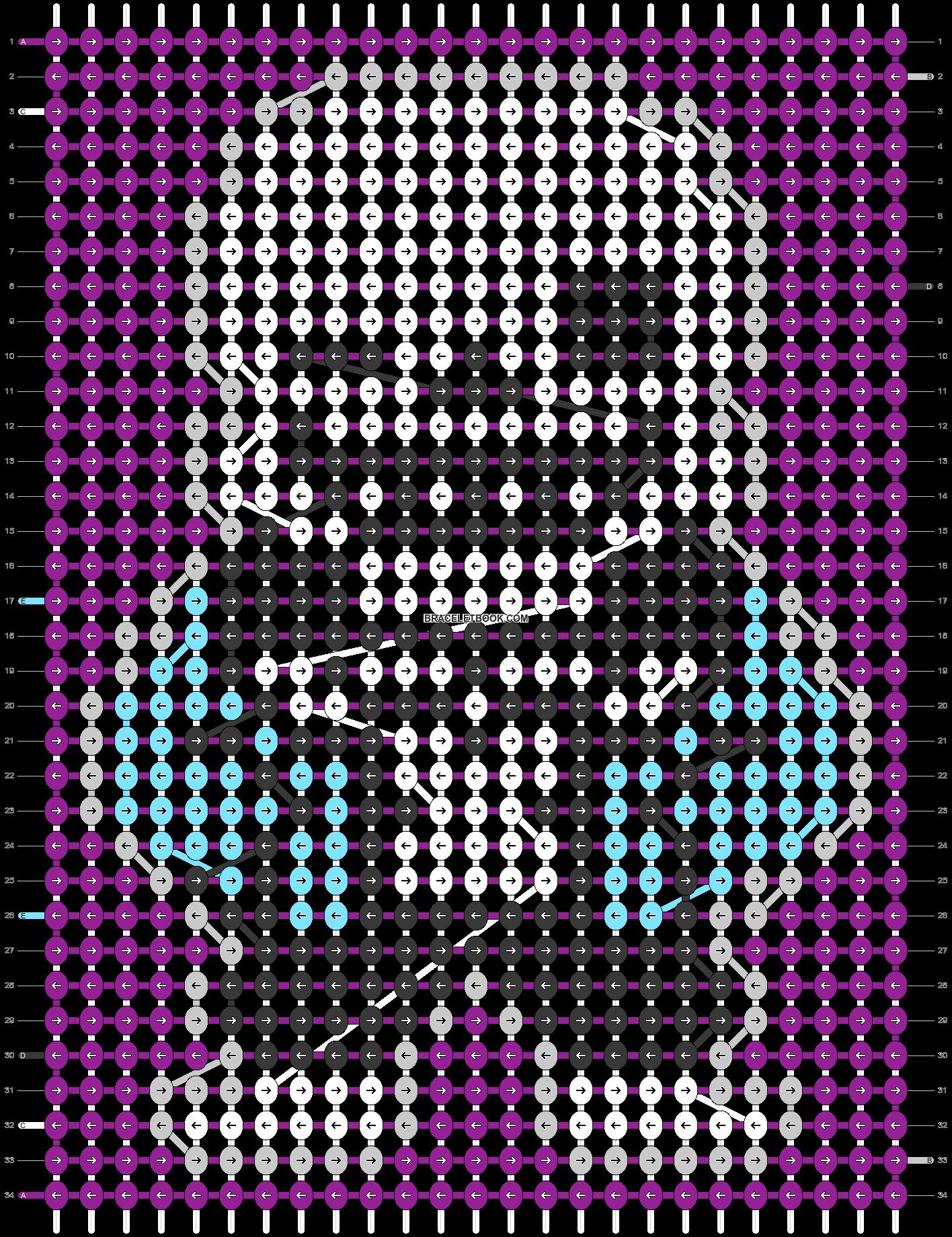 Alpha pattern #20864 pattern