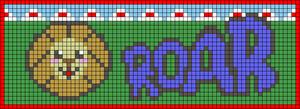 Alpha pattern #20865