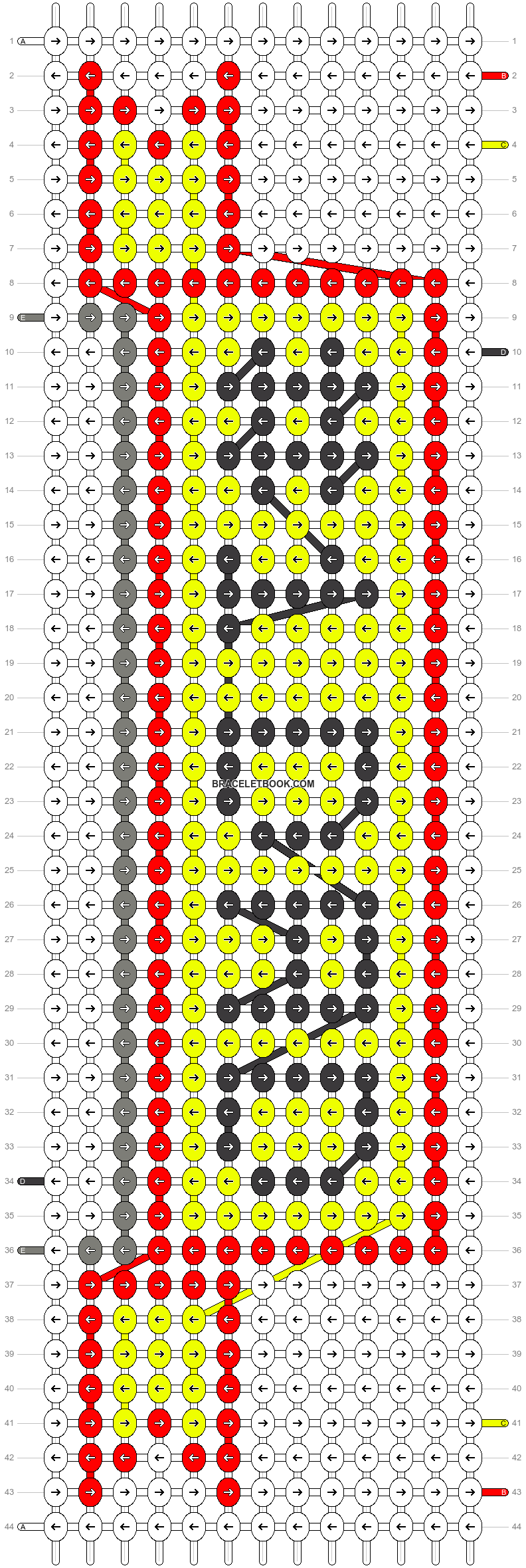 Alpha pattern #20870 pattern