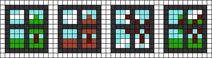 Alpha pattern #20873