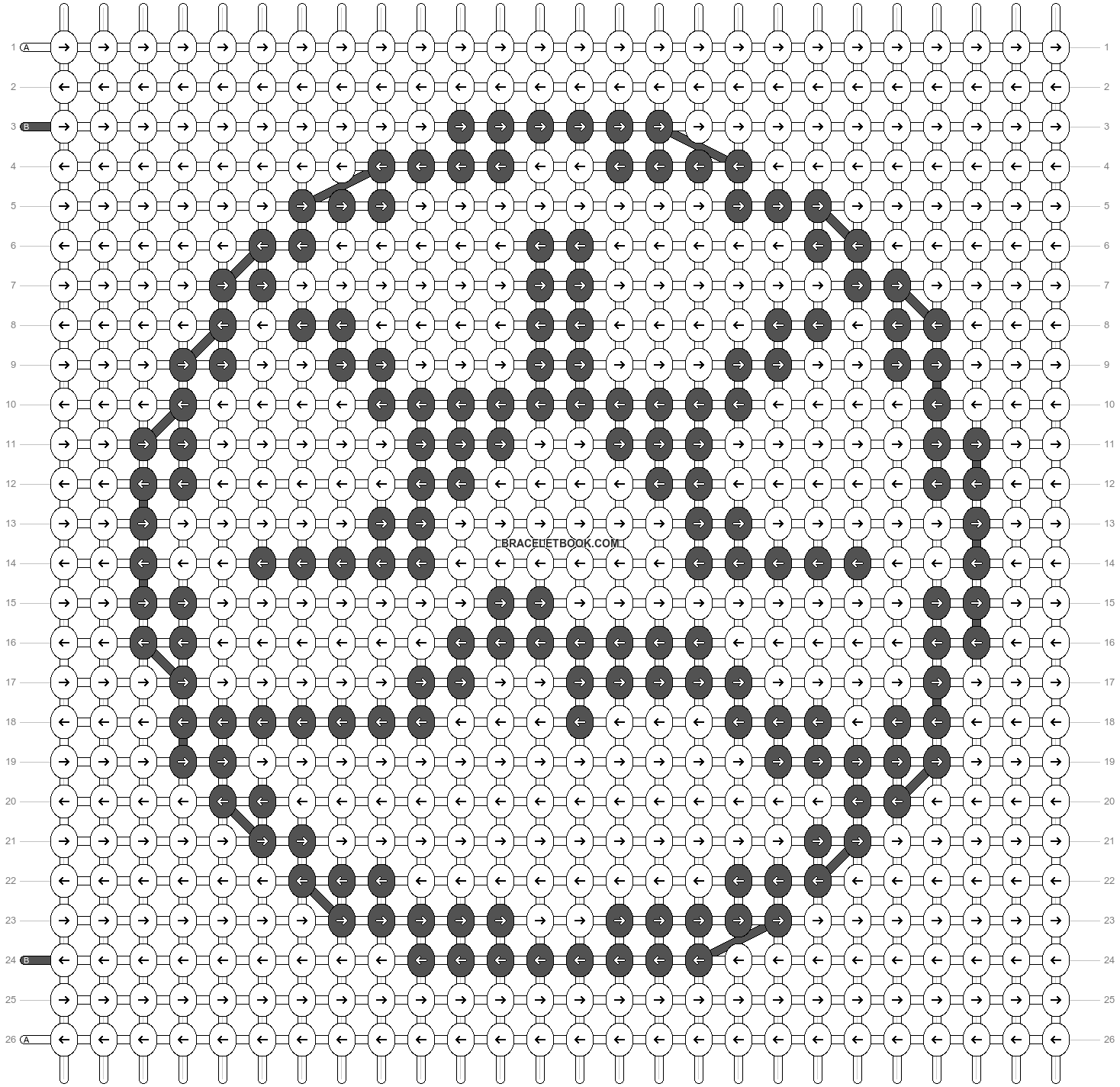 Alpha pattern #20874 pattern