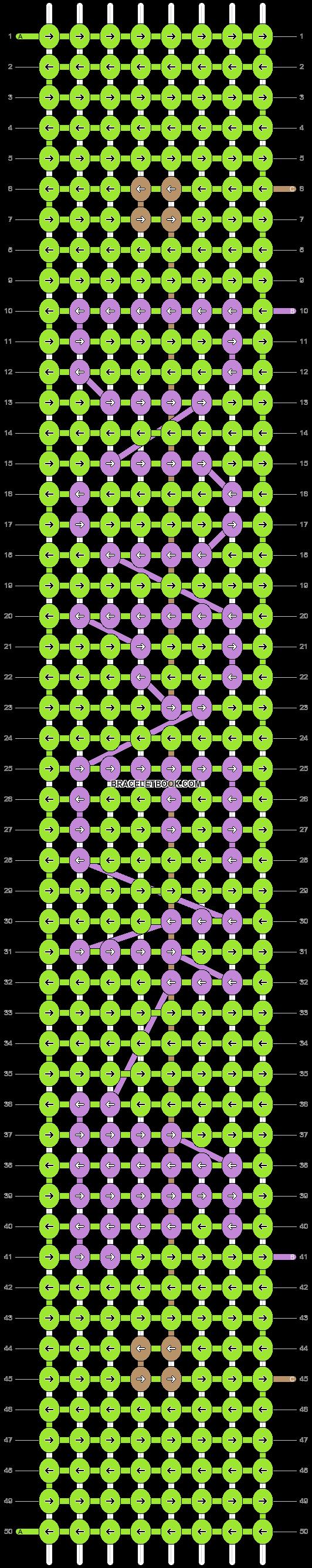 Alpha pattern #20876 pattern