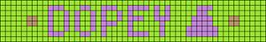 Alpha pattern #20876