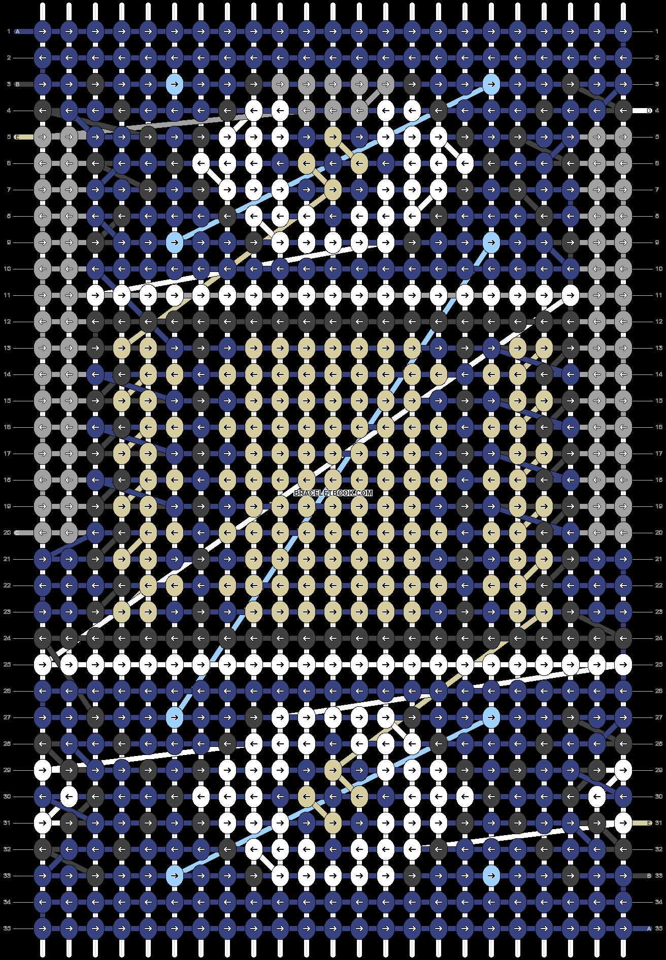 Alpha pattern #20878 pattern